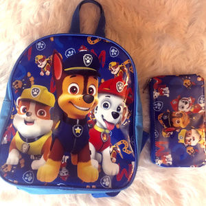 Other - 🌟 3 for 25 🌟  Paw Patrol toddler Backpack & Case